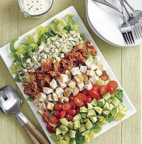 салаты из простых продуктов рецепты