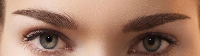 удаление перманентного макияжа бровей