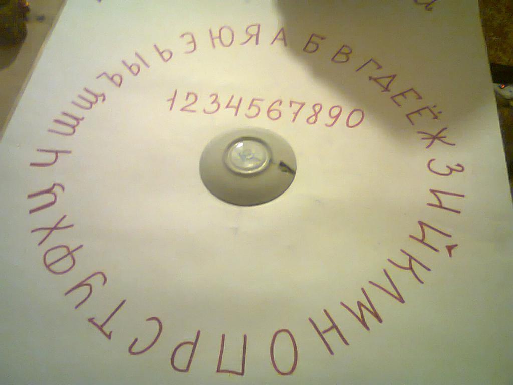 круг для вызова духов картинки первых вида