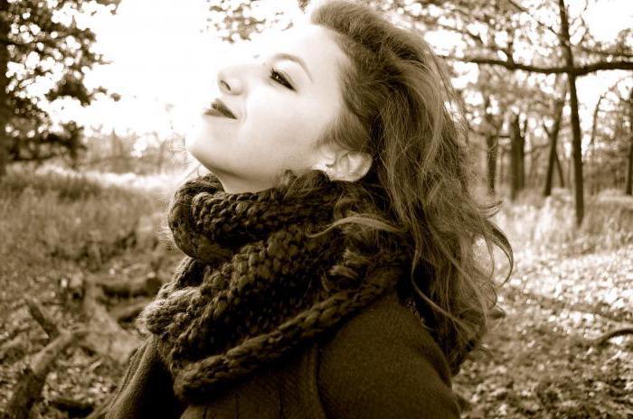 Осенние фотосесии девушек в парке