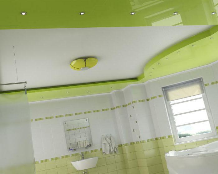 глянцевый или матовый потолок
