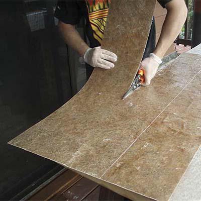 Как сделать гибкий камень своими руками в домашних условиях 24