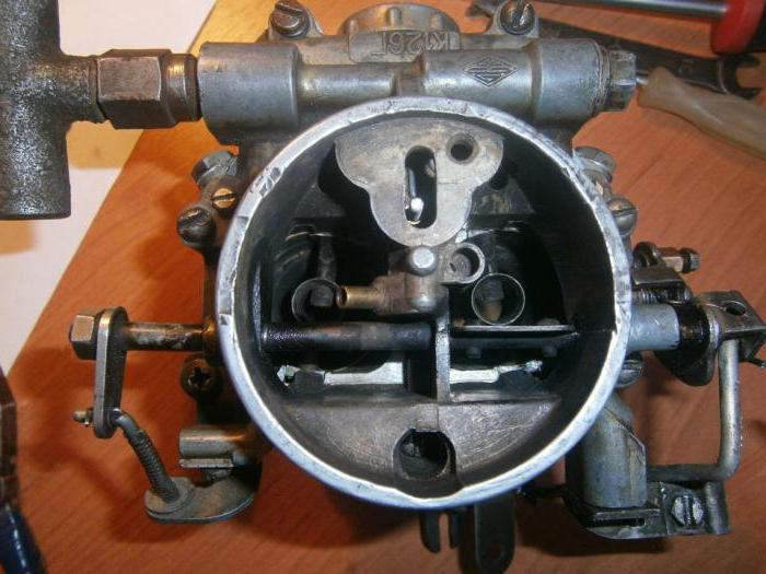 карбюратор к126г регулировка качества смеси