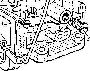 к126г регулировка карбюратора инструкция