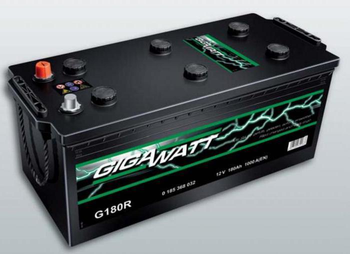 Автомобильный аккумулятор Gigawatt G55R - фото 7