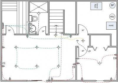 монтажные схемы электрооборудования