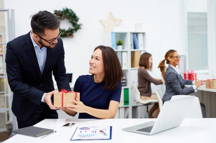 обмен деловыми подарками и знаками делового гостеприимства