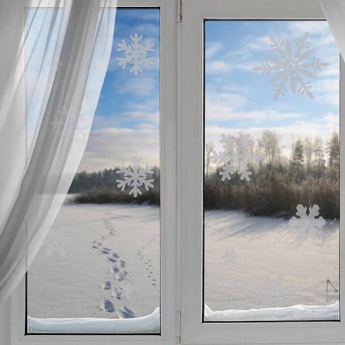украшение окна