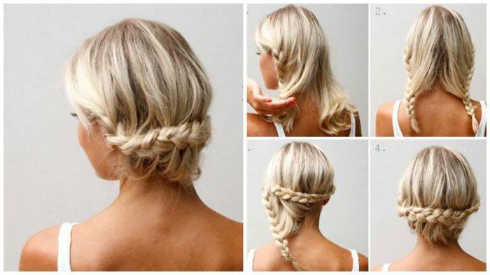 как уложить волосы короткие с челкой в домашних условиях фото