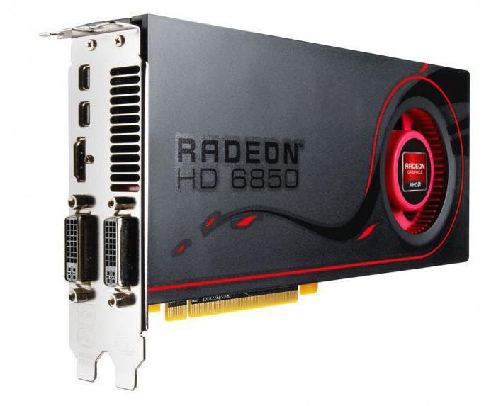 amd radeon hd 6800 series технические характеристики