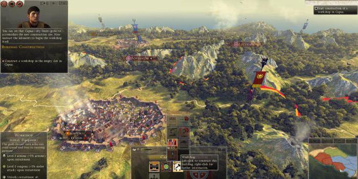 Total War Attila Карта