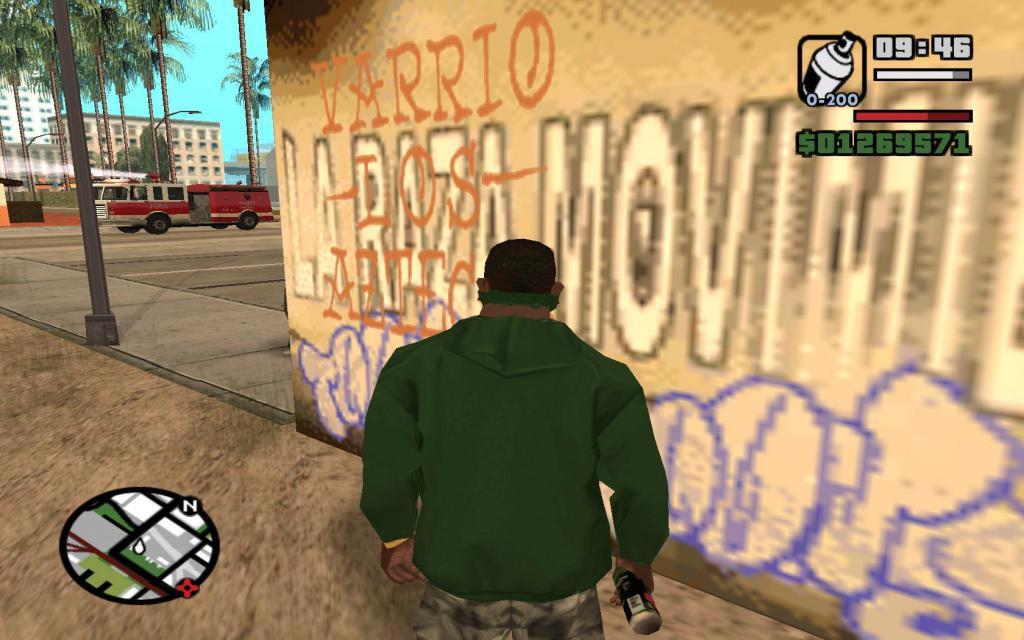 Граффити в ГТА Сан Андреас