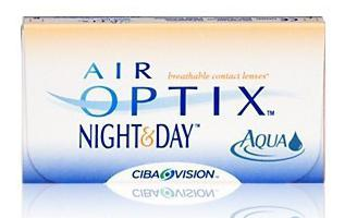 контактные линзы Air Optix Aqua инструкция
