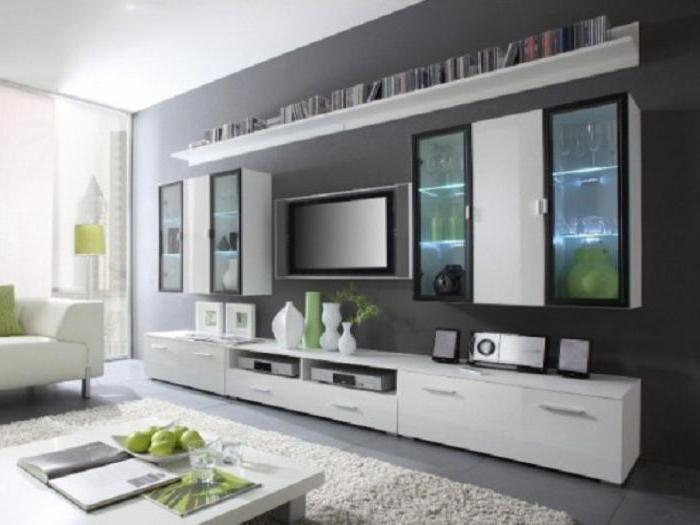стенка под телевизор недорого и современно