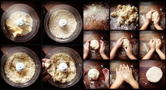 Тесто песочное. Классический рецепт