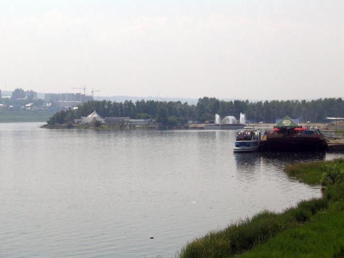 река вытекающая из озера байкал