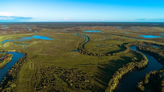 реки Ишимской равнины