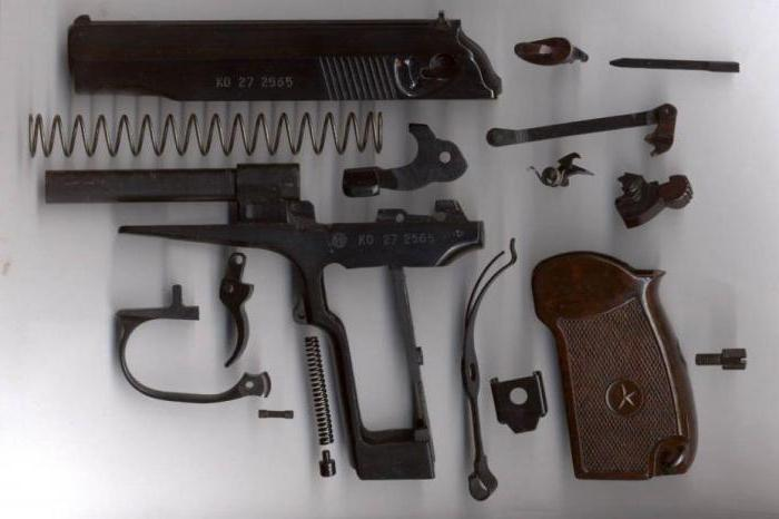 Инструкция разборки пистолета