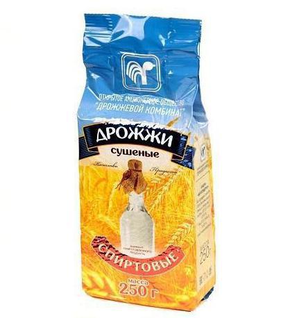 дрожжи спиртовые белорусские 250 г отзывы