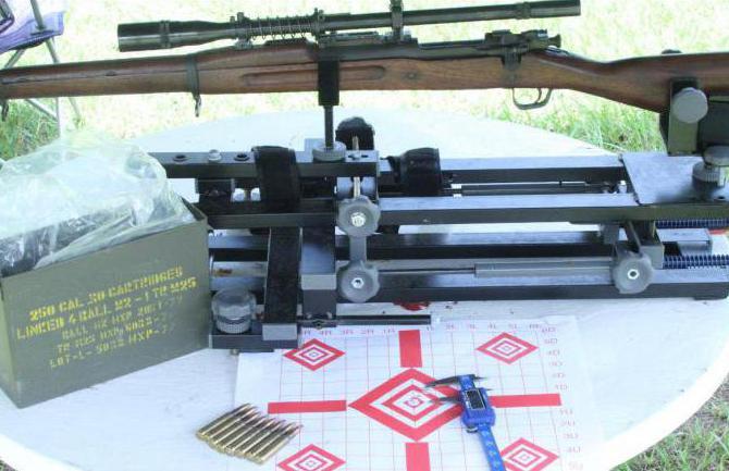 станок для пристрелки карабина своими руками фото