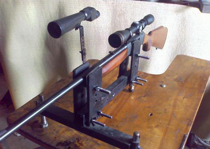 станок для пристрелки