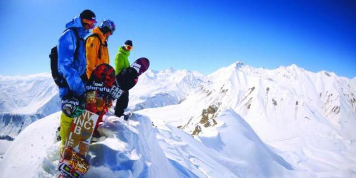 грузия гудаури горнолыжный курорт