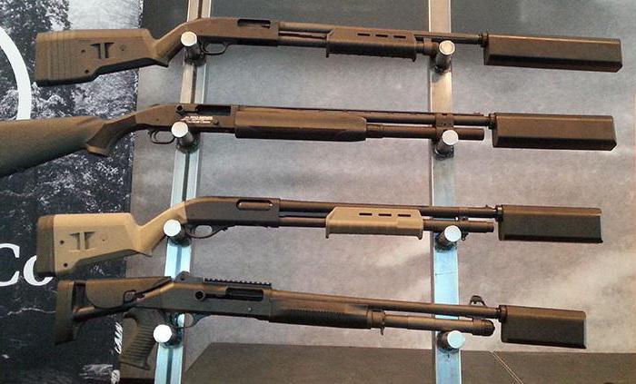 глушитель на гладкоствольное ружье 12 калибра своими руками