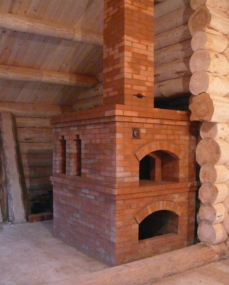 how to build a russian stove