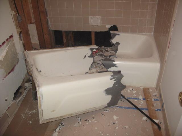 is it possible to break a cast-iron bath