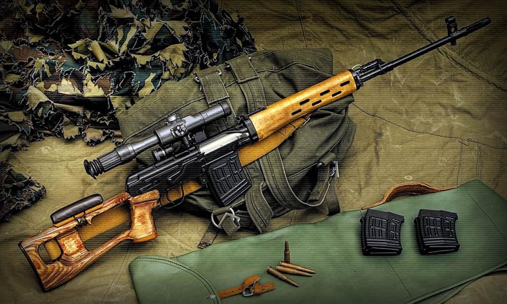 Картинка винтовка драгунова