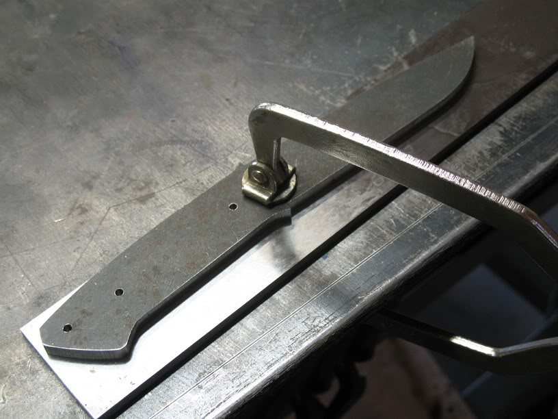 how to make even descents on a knife for beginners