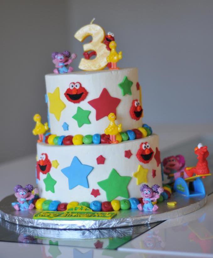 Вариант торта для мальчика.