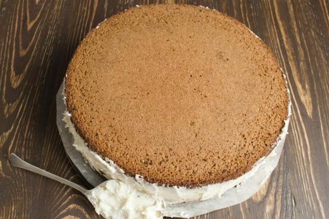 Приготовление торта.