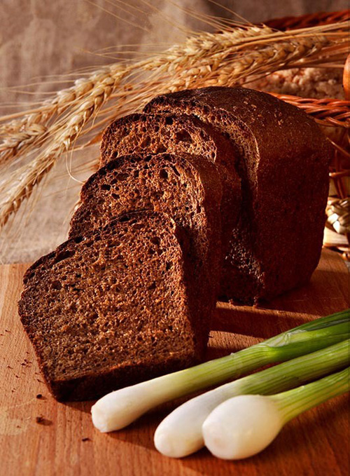 Ржаной хлеб.