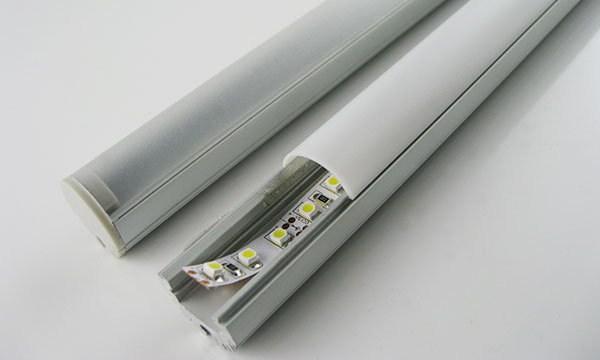 Профиль с рассеивателем для светодиодной ленты