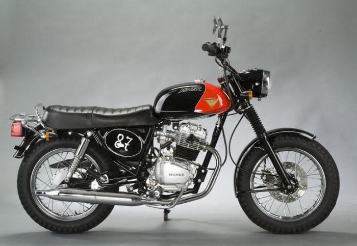 тюнинг мотоцикла минск 125