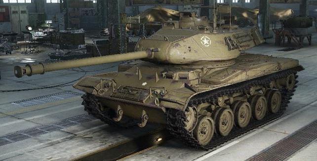 танк м41 бульдог