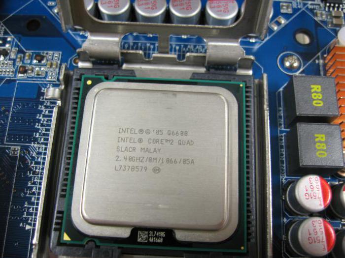 Intel Core 2 Quad Q6600: разгон процессора