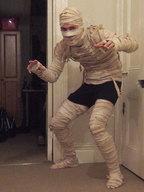 костюм мумия своими руками