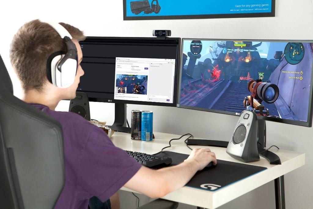 Webcam connection