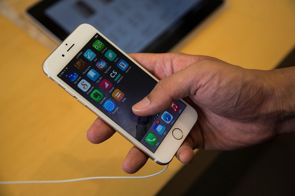разлоченный айфон 6 s