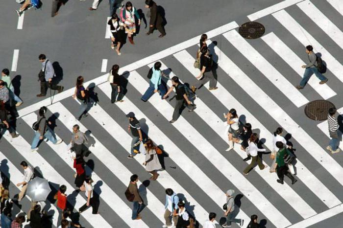 Как должен двигаться пешеход по проезжей части