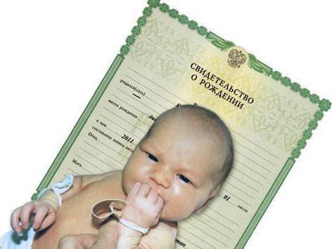 оформление документов после рождения ребенка