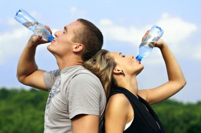 сколько человек должен выпивать воды в день таблица