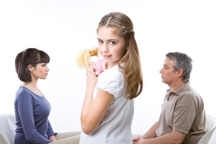 что Кому при разводе остаются дети Это