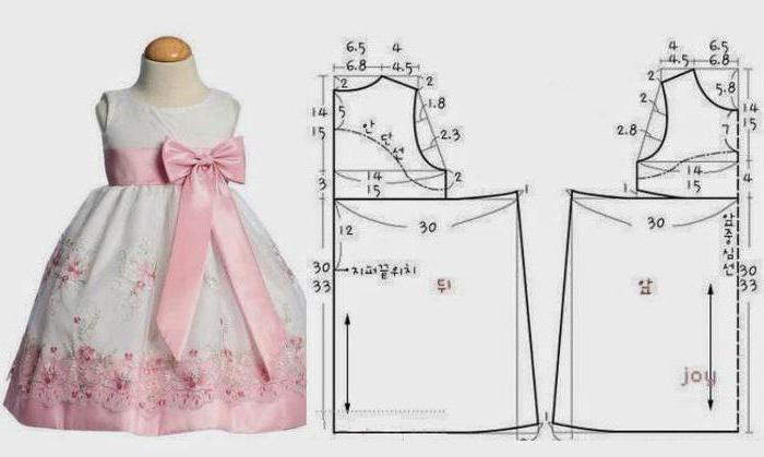 Шьем платье для девочки 8 лет