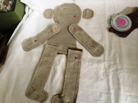 обезьяна тильда выкройка игрушки