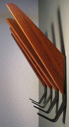 мебельные крючки для прихожей