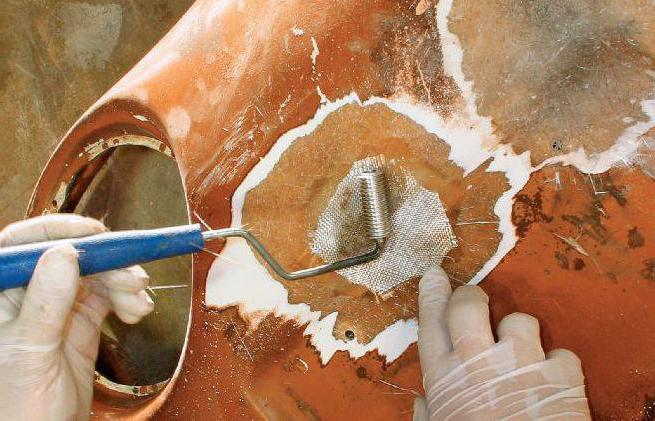 ремонт бамперов из стекловолокна
