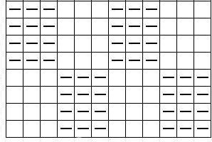 простая схема вязания спицами